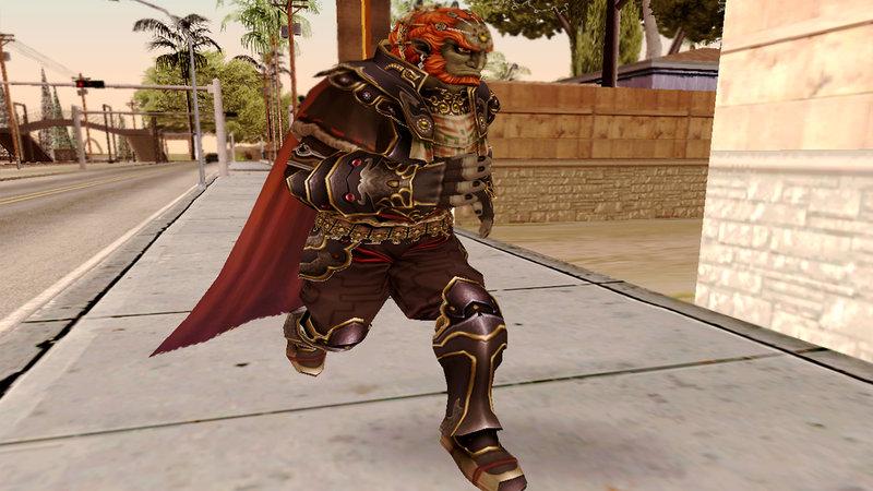 Gta San Andreas Super Smash Bros Brawl Ganondorf Mod