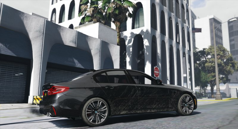 2018 BMW M5 F90 Add On Tuning Template HQ