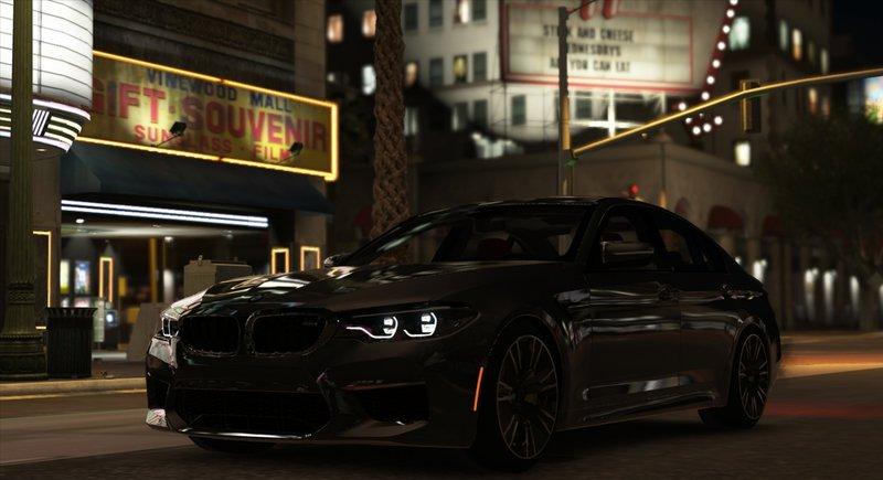 2018 BMW M5 F90 Add On Tuning Template HQ
