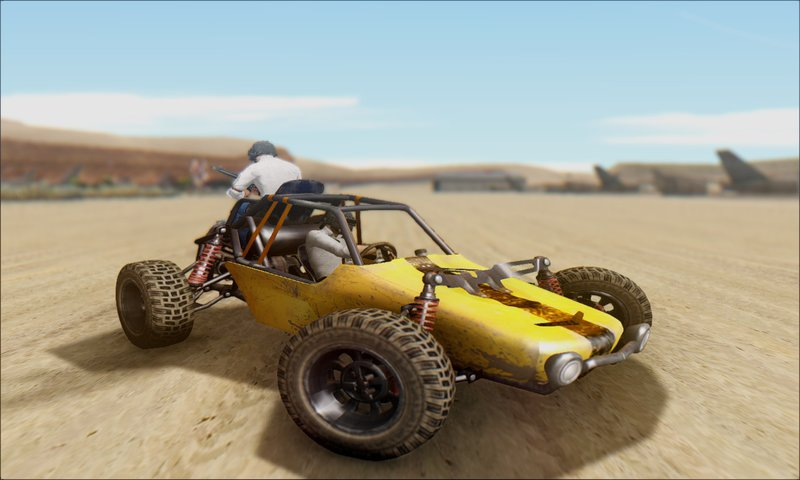 3d Model Playerunknown S Battlegrounds Buggy By Kmiklas: GTA San Andreas Playerunknown's Battleground Buggy Mod