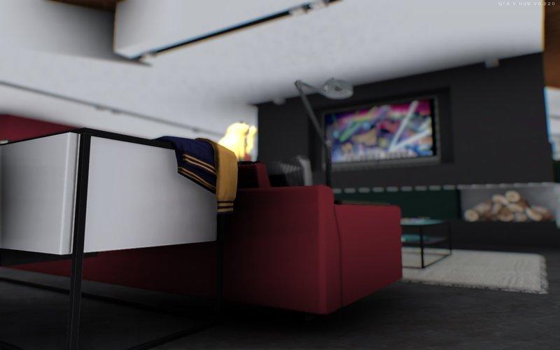 GTA San Andreas GTA V Franklin House [Vinewood] Mod