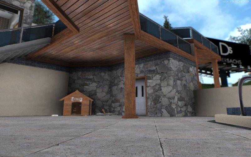 Gta San Andreas Gta V Franklin House Vinewood Mod Gtainside Com