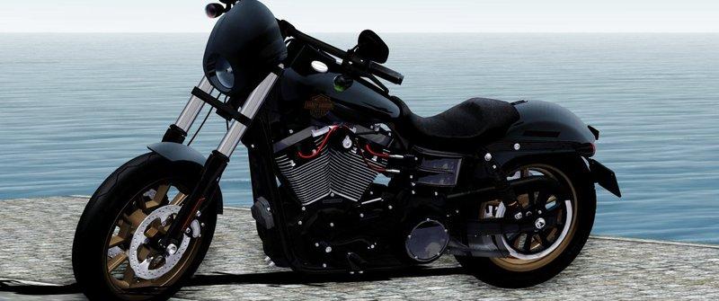 GTA San Andreas Harley-Davidson® FXDLS Dyna Low Rider® S