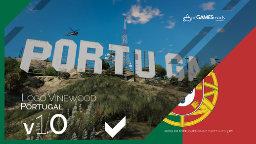Portuguese - Logo Vinewood to Portugal [Replace] v1.0