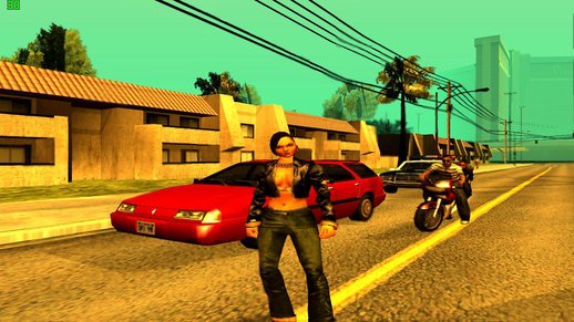 Catalina from the Xbox Version of GTA 3