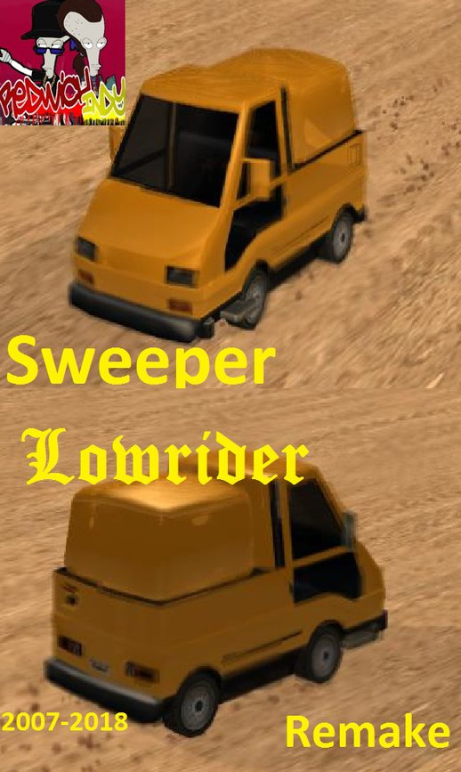 Sweeper Lowrider 11th Anniversary Remake