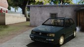 VW Golf Mk3 OLD VERSION