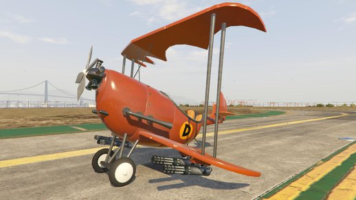 Dick dastardly airplane (addon)