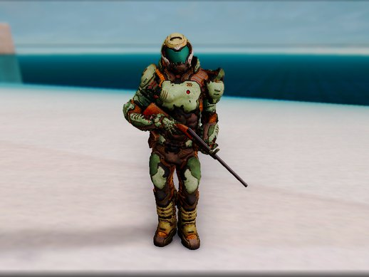 DOOM GUY Marine From DOOM 2016