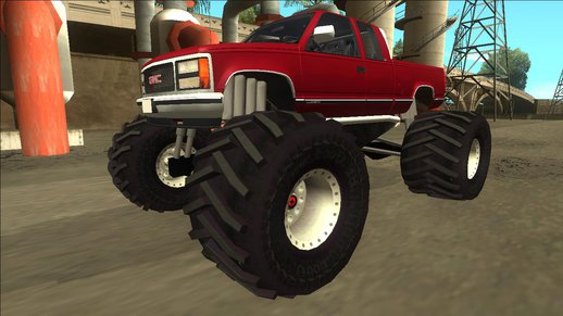 1992 GMC Sierra Monster Truck