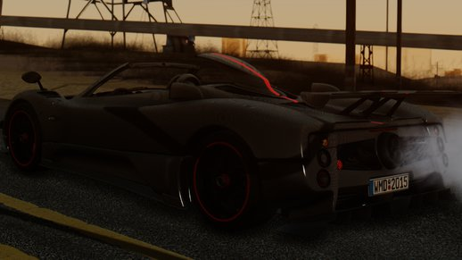 GTA San Andreas Pagani - Mods and Downloads - GTAinside.com