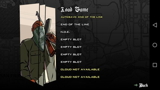 End Of The Line Save Game for Android
