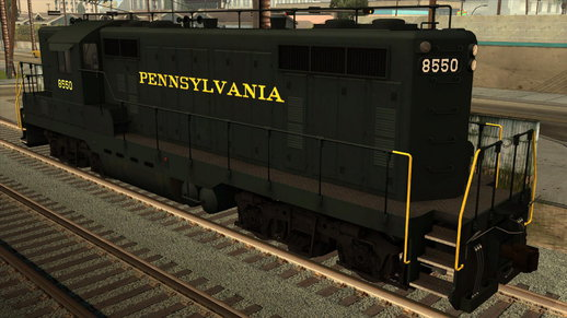 EMD GP7 Freight Pennsylvania Railroad