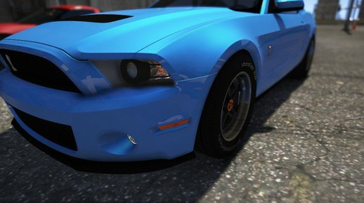 Ford Shelby GT500 2010 [ADD-ON/HQ/3D ENGINE] V1.0
