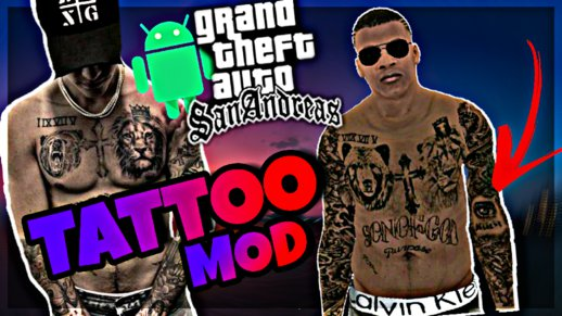 JB Tattoo Mod for Franklin (ANDROID)