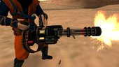Minigun and Flame Thrower from Dead rising 4