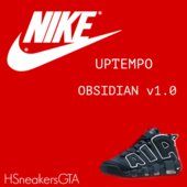 Nike Air Uptempo Obsidian for T.I.P