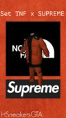 Set The North Face X Supreme for T.I.P