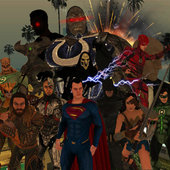 Justice League - WAR (DYOM)