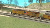 GE ES44AC Locomotive Union Pacific Final Version V4.0