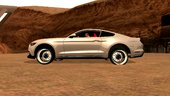Ford Mustang 2016 Android Dff Only