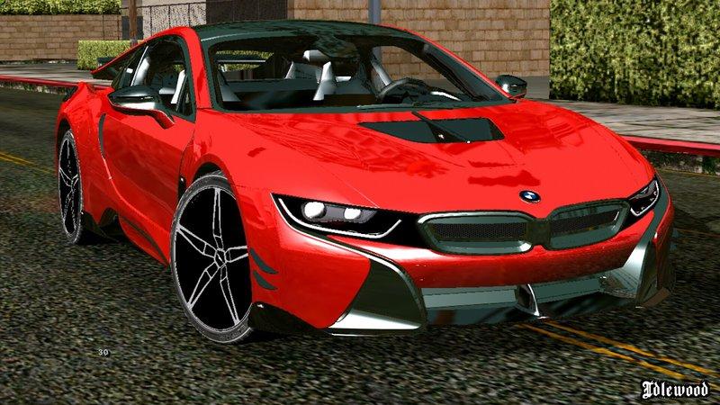 GTA San Andreas BMW I8 Mod