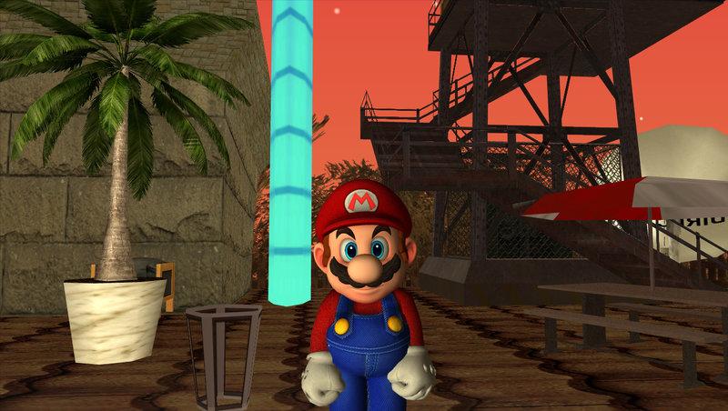 GTA San Andreas Mario Odyssey Skin Mod - GTAinside com