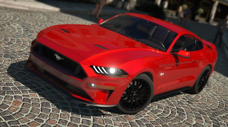 Gta 5 Ford Mustang Gt 2018 Addon Replace Mod Gtainsiderhgtainside: Ford Mustang Gta 5 Location At Gmaili.net