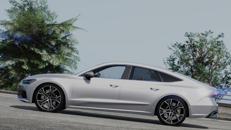 GTA 5 Audi A7 Sportback 2018[Add-On / Replace] Mod