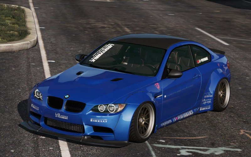 Gta 5 Bmw M3 E92 Liberty Walk 2010 Mod Gtainside Com