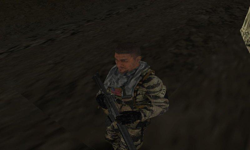 GTA San Andreas Navy SEALs Tiger Stripe Camouflage Mod