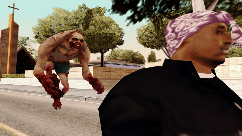 GTA San Andreas Left 4 Dead 2 - Jockey Mod - GTAinside com