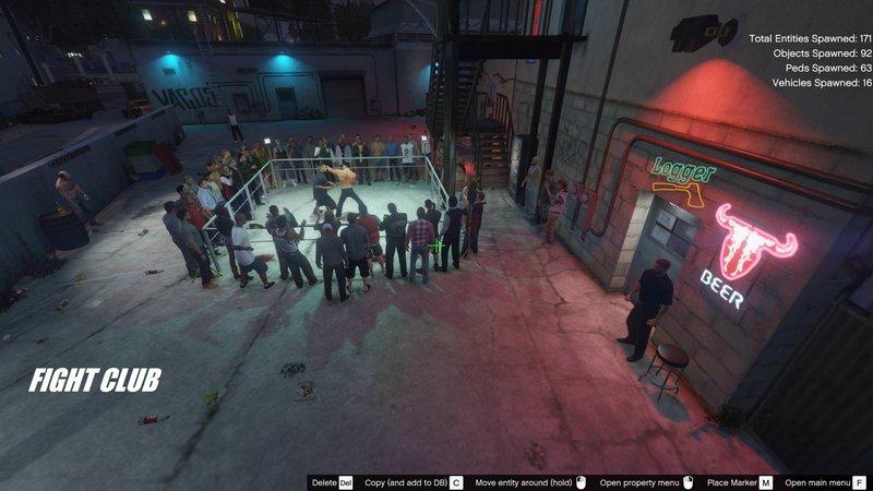 GTA 5 Fight Club [ Menyoo ] Mod - GTAinside com