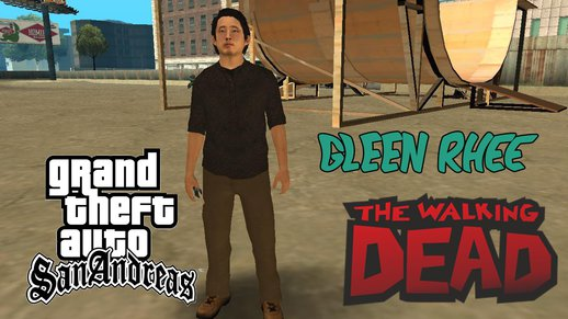Gleen Rhee from The Walking Dead Skin
