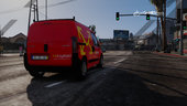 Portuguese Van Post Office - CTT & CityPOST - Peugeot Bipper [Replaced/Livery] v1.0