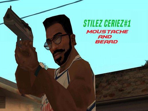 stilez ceriez 1 moustache and beard