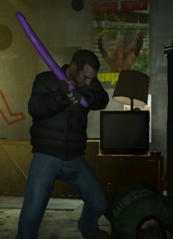 Dildo Bat For GTA IV