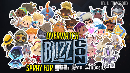 Overwatch BlizzCON Spray [Graffiti's SKIN]