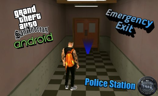 Emergency Exit of Police Station