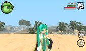 Miku Anime Girl Skin For Android