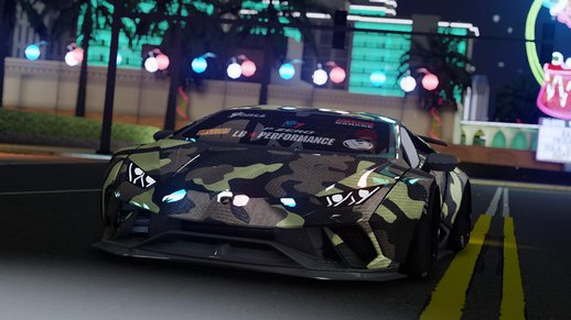 Lamborghini Huracan Performante Liberty Walk 2018