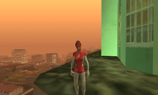Mary Jane Spinnerett from Spiderman Unlimited