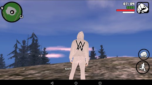 Alan Walker White Skin