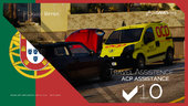 Portuguese Travel Assistence ACP - Peugeot Bipper [Addon/Livery]