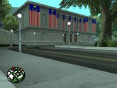 San Fierro City Hall Museum with Malaysia Flag
