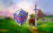 Master Sword and Hylian Shield