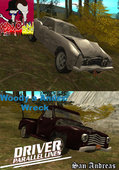 Driver PL Andec a Woody Wreck (pack)