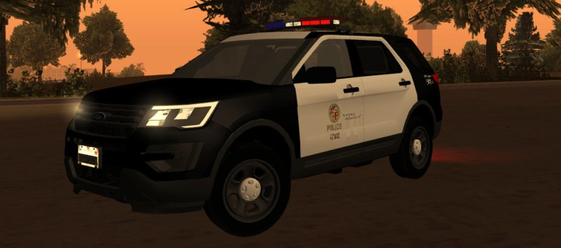 GTA San Andreas 2016 Ford Police Interceptor Utility LSPD ...