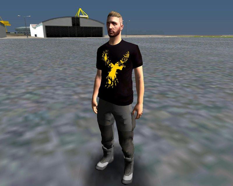 Gta San Andreas Enes Batur T Shirt Mod Mod Gtainside Com