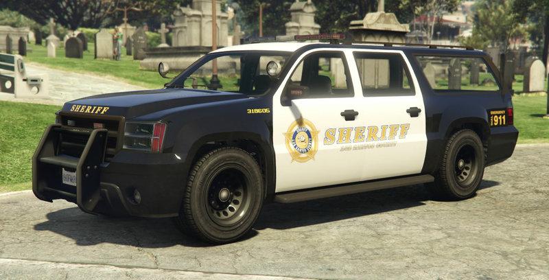 Gta V Sheriff Suv Mod | Ritchie